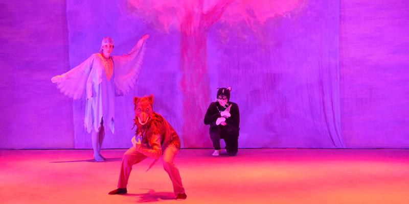 Spectacle d'eurythmie « Pierre et le loup »