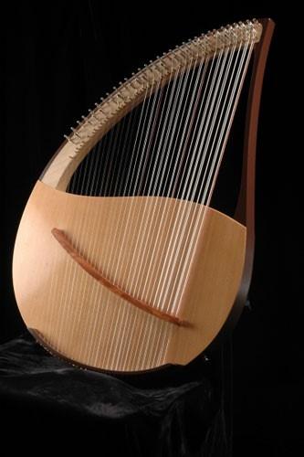 Ensemble de lyres romand