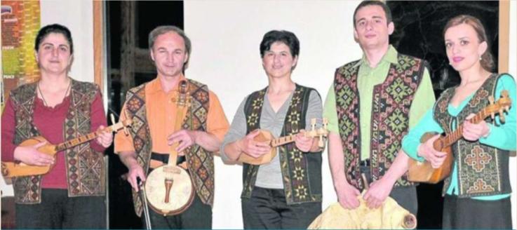 Kolchika Quintette de Géorgie