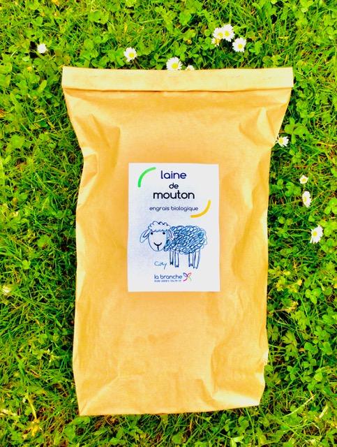 NOUVEAU: de la laine de mouton comme engrais biologique pour votre jardin !